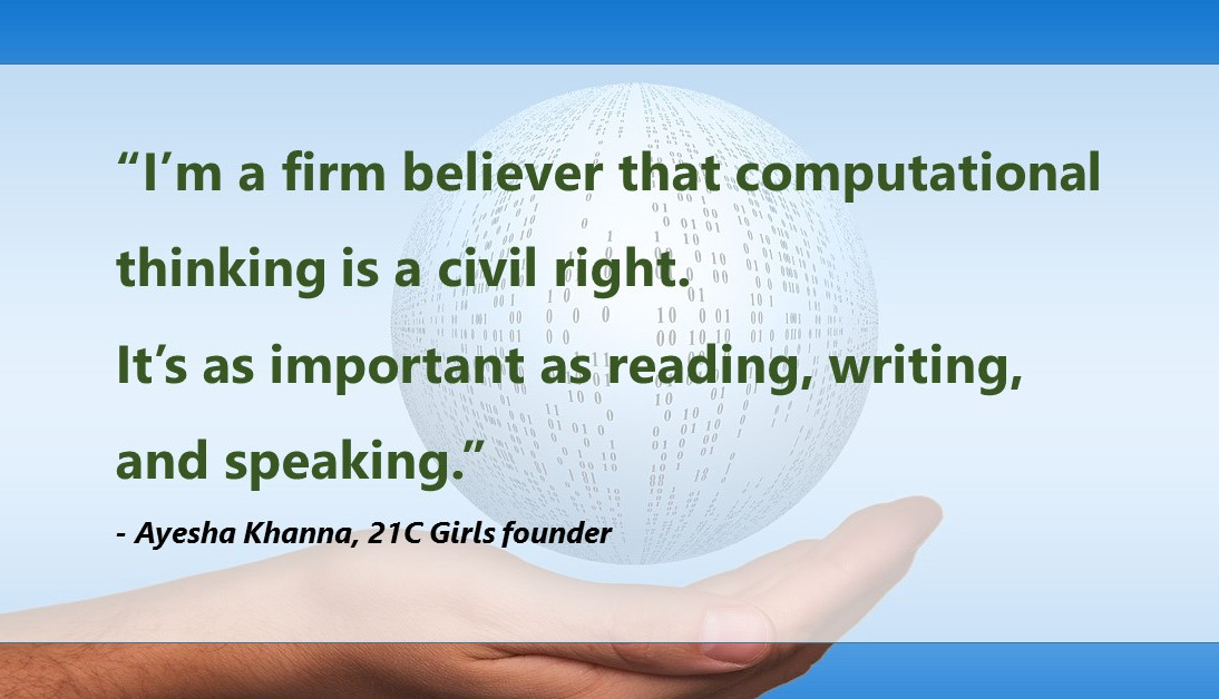 Featured on Tech In Asia:  She's teaching girls in Singapore how to code and think critically