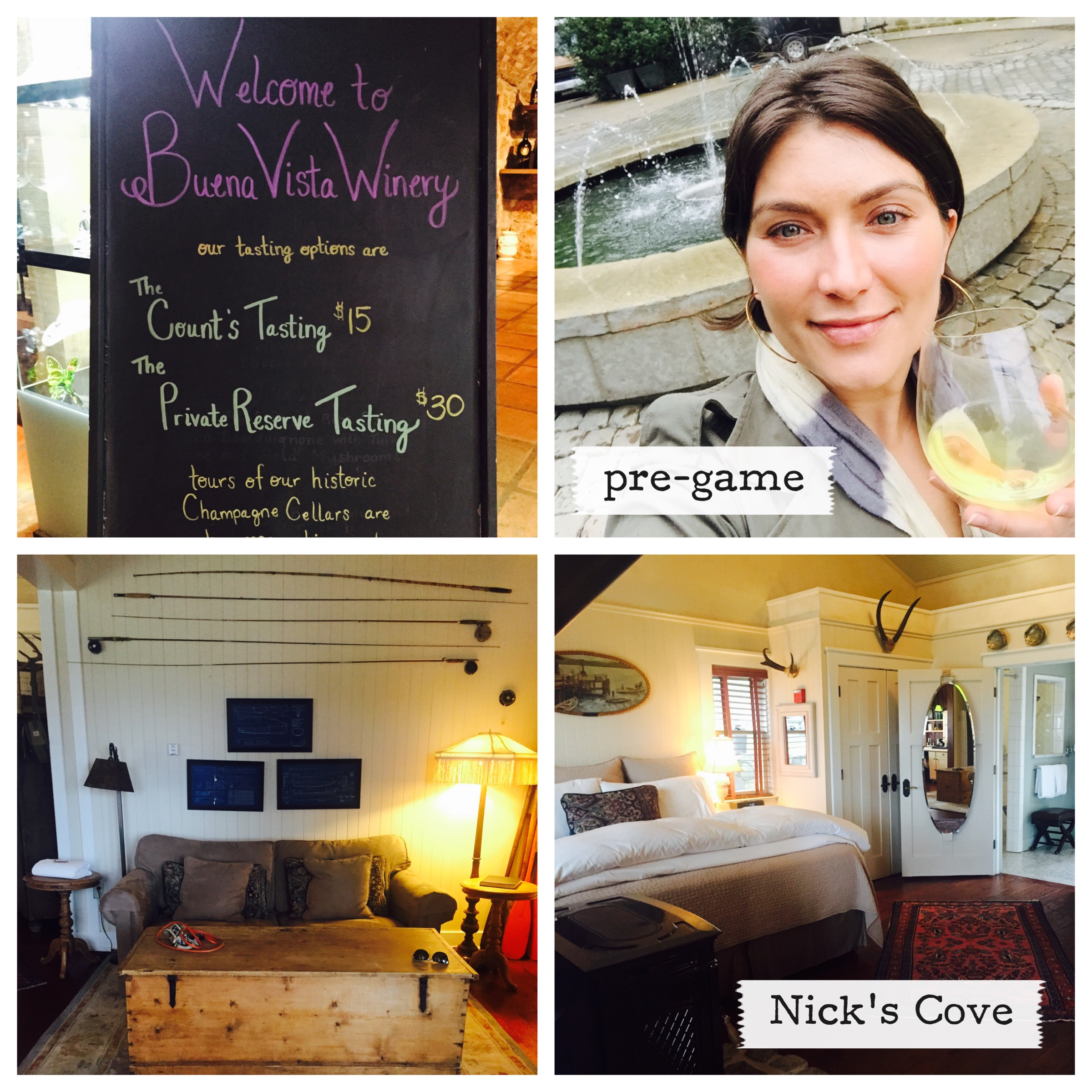 Buena Vista Winery and Nick's Cove