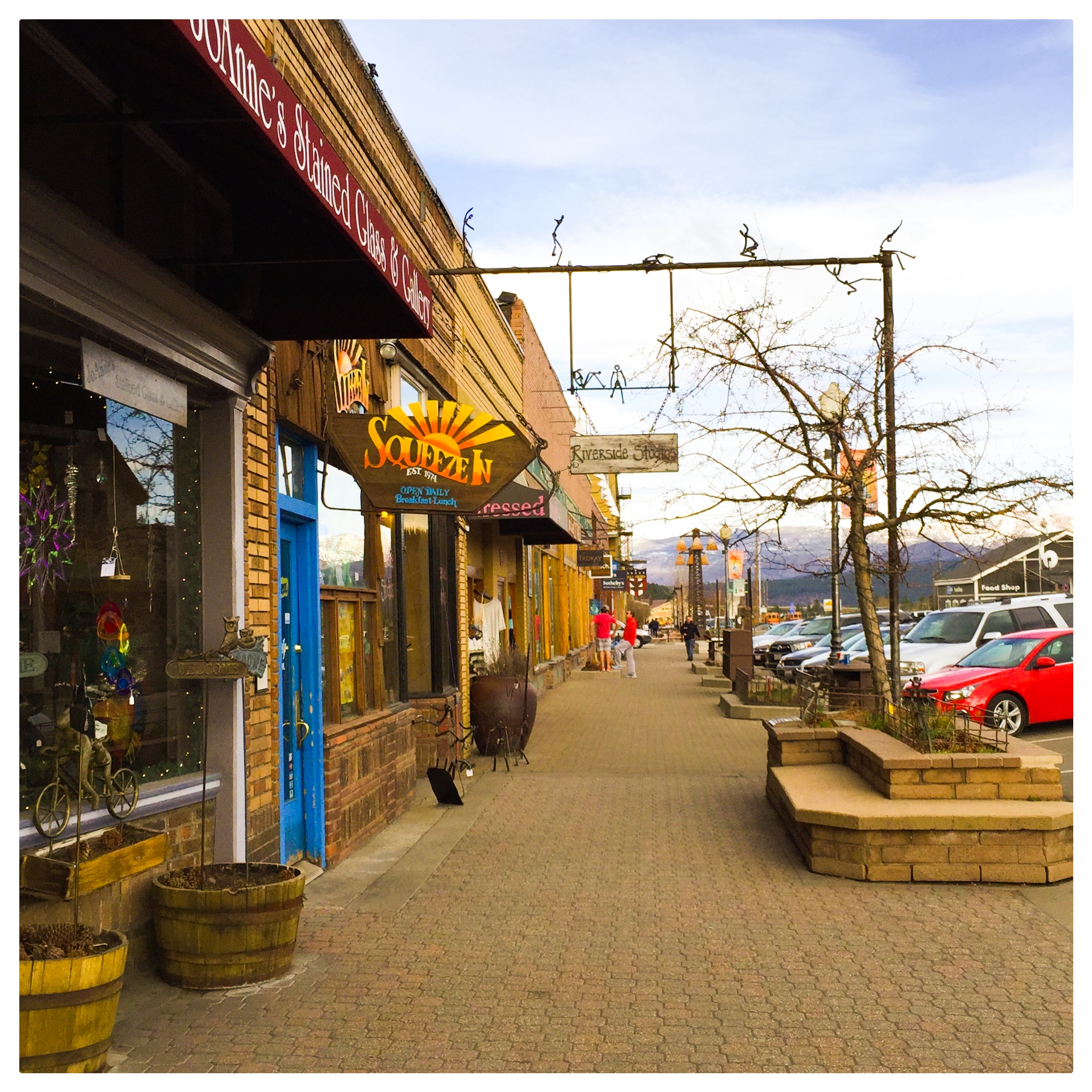 Donner Pass Road in Downtown Truckee