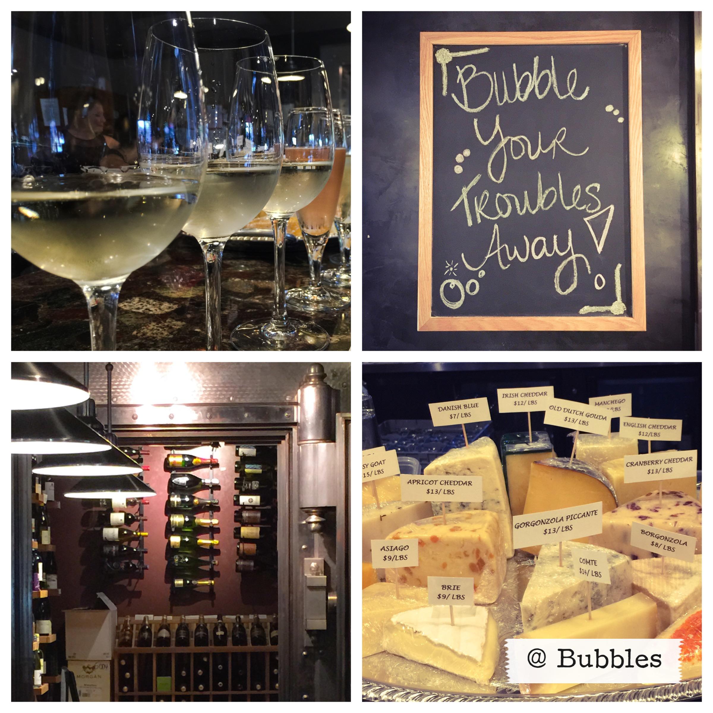 Bubbles Wine Bar in Morgan Hill