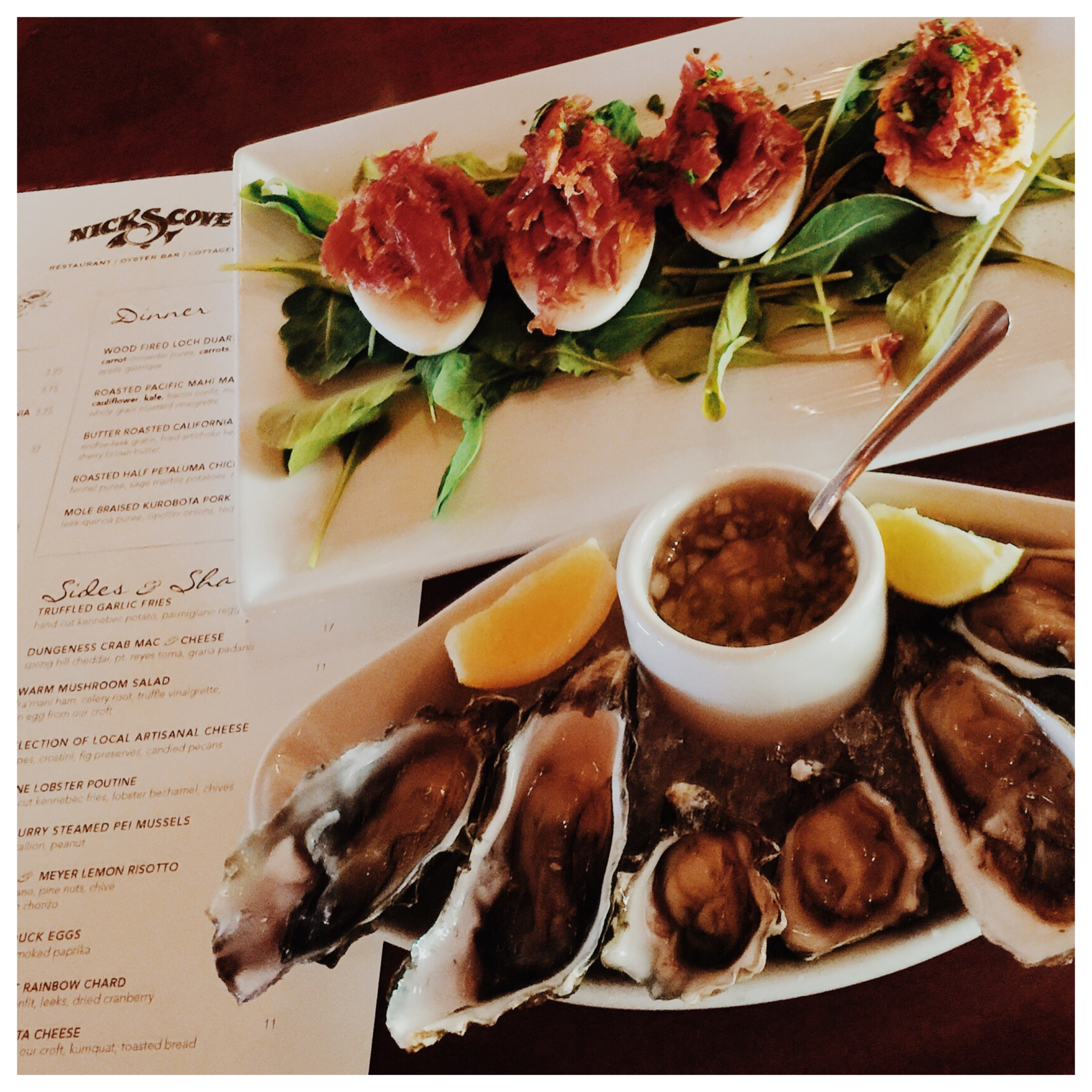 Oysters et al