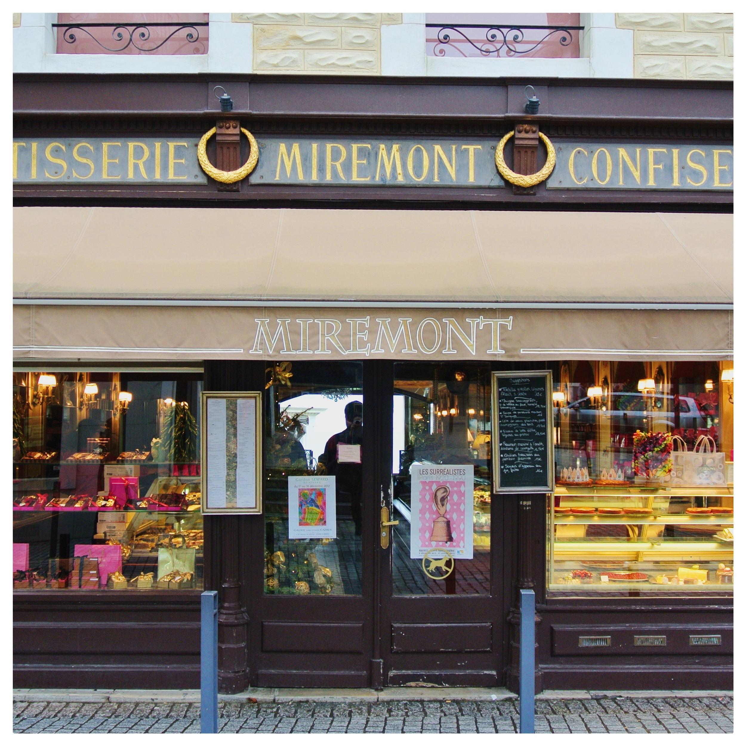 Biarritz's own  Miremont  chocolatier