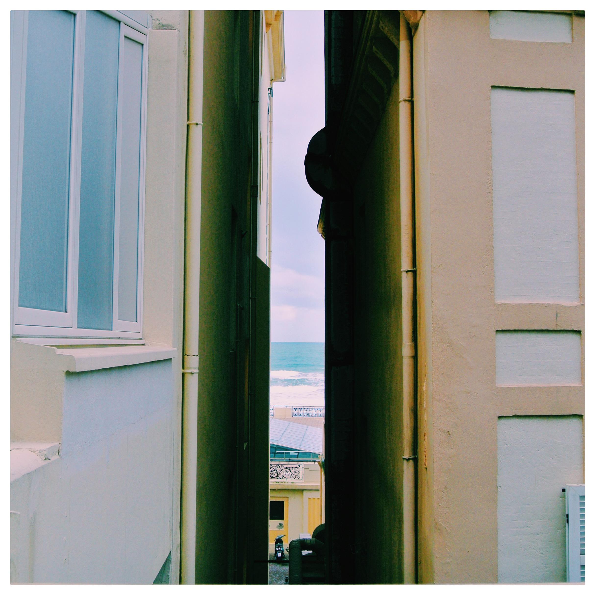 Peeking at the Bay