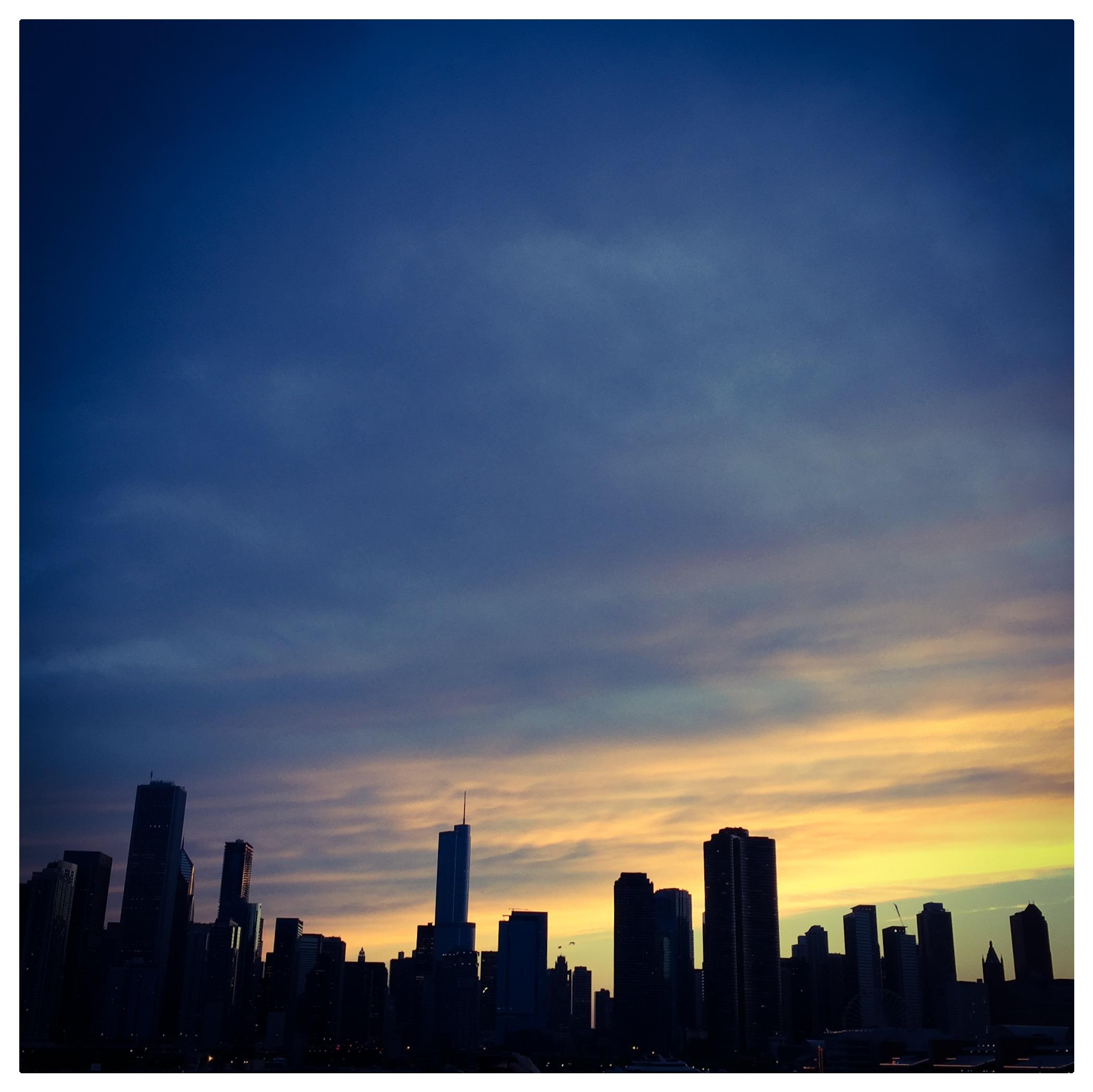 Chicago lake views