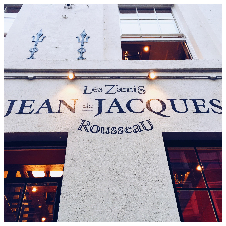 Jean-Jacques  in London's Soho