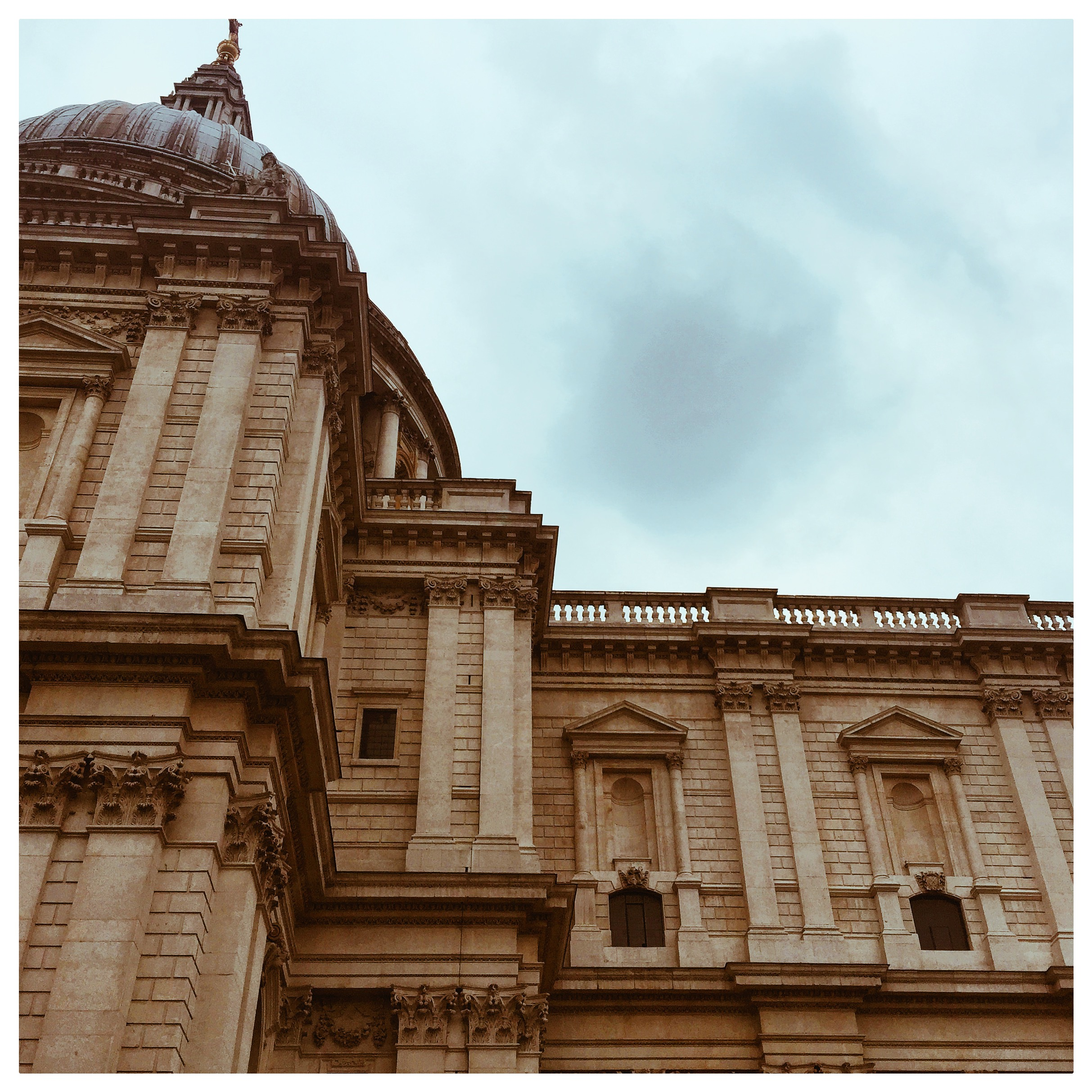 Skies over St. Paul's