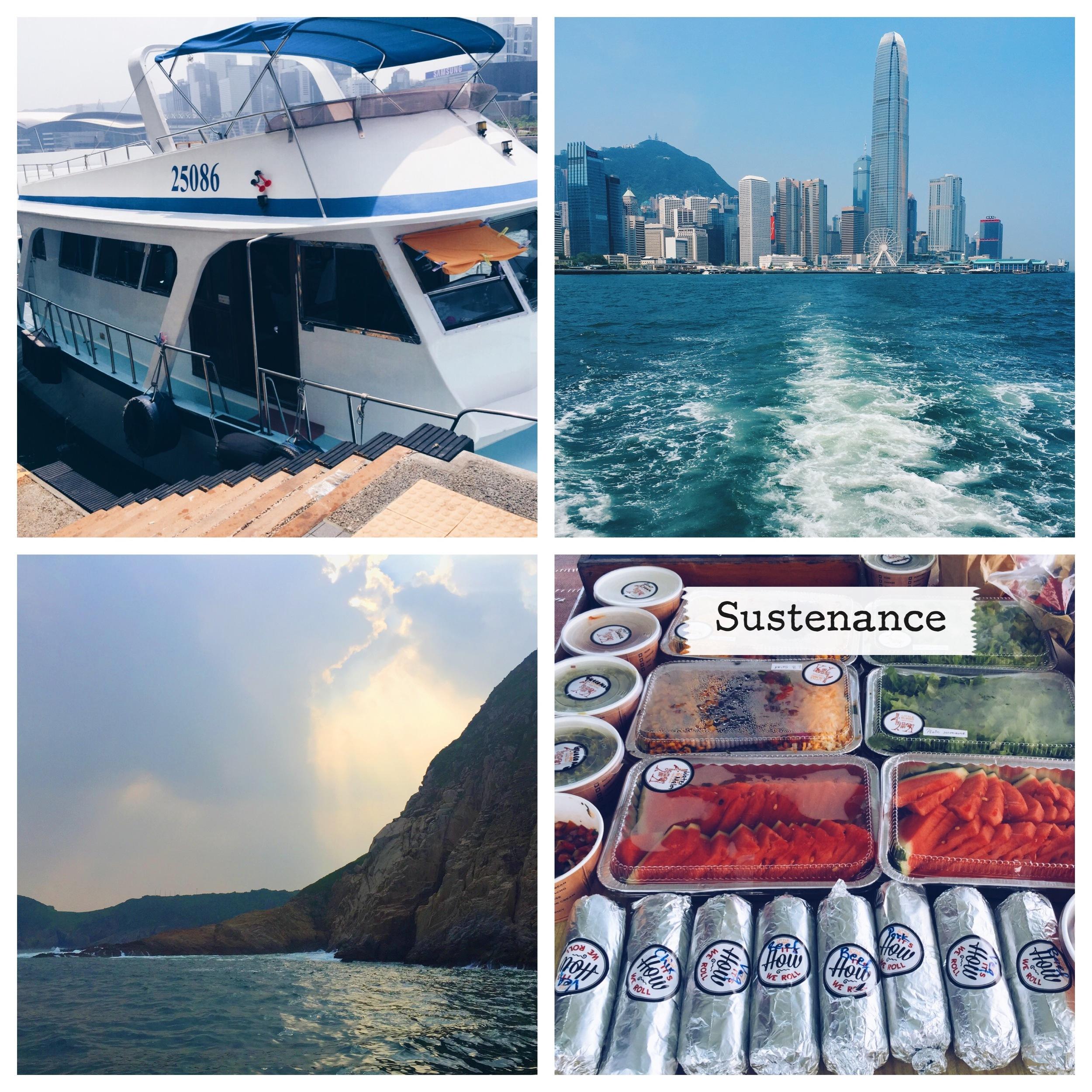 Sailing through the South China Sea