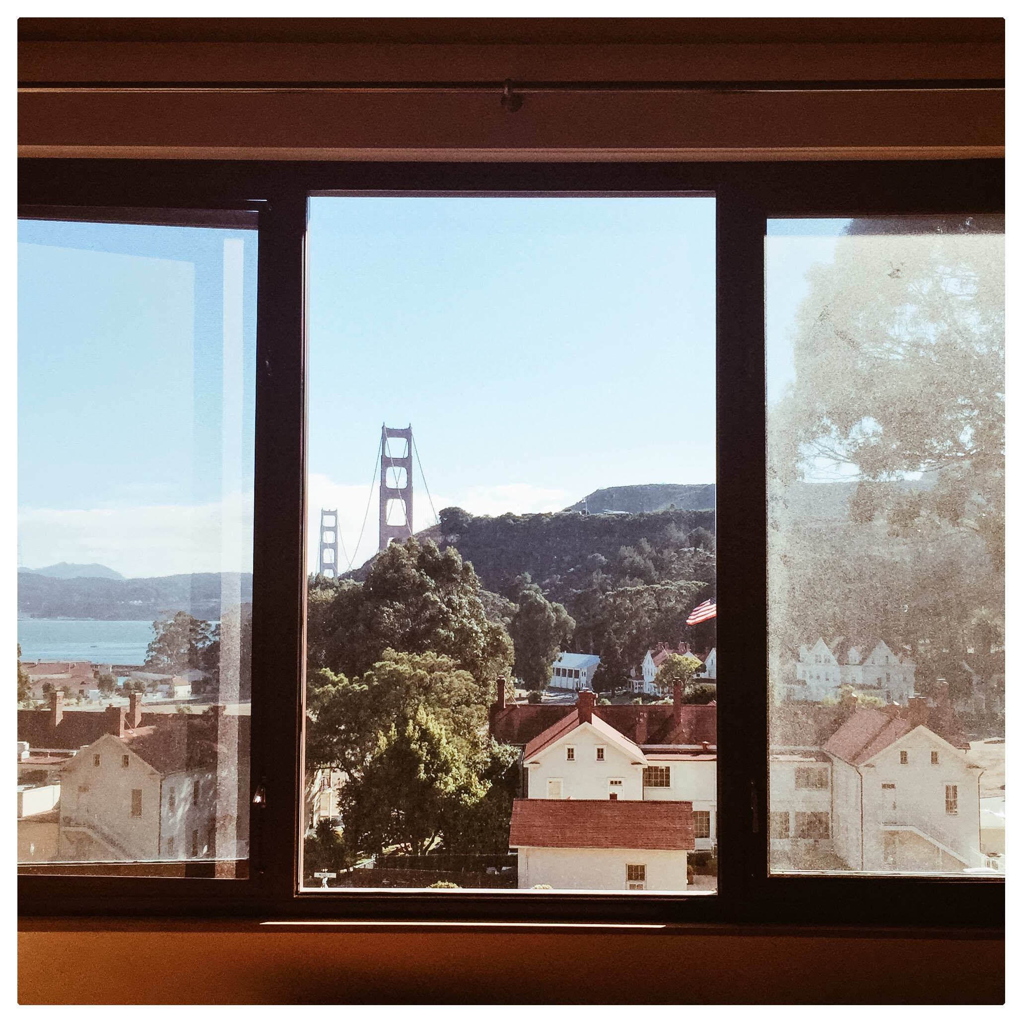 View from Contemporary Guest Room
