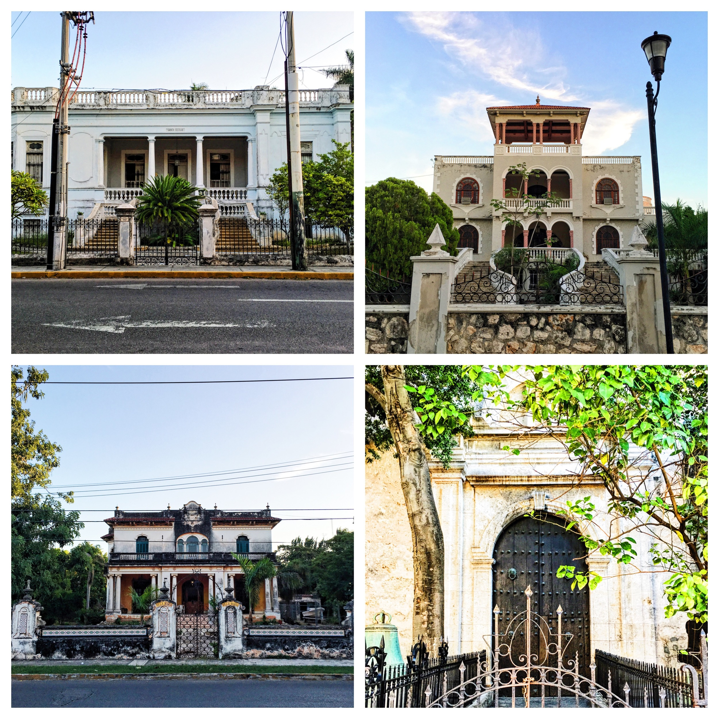 Vacant homes of Mérida