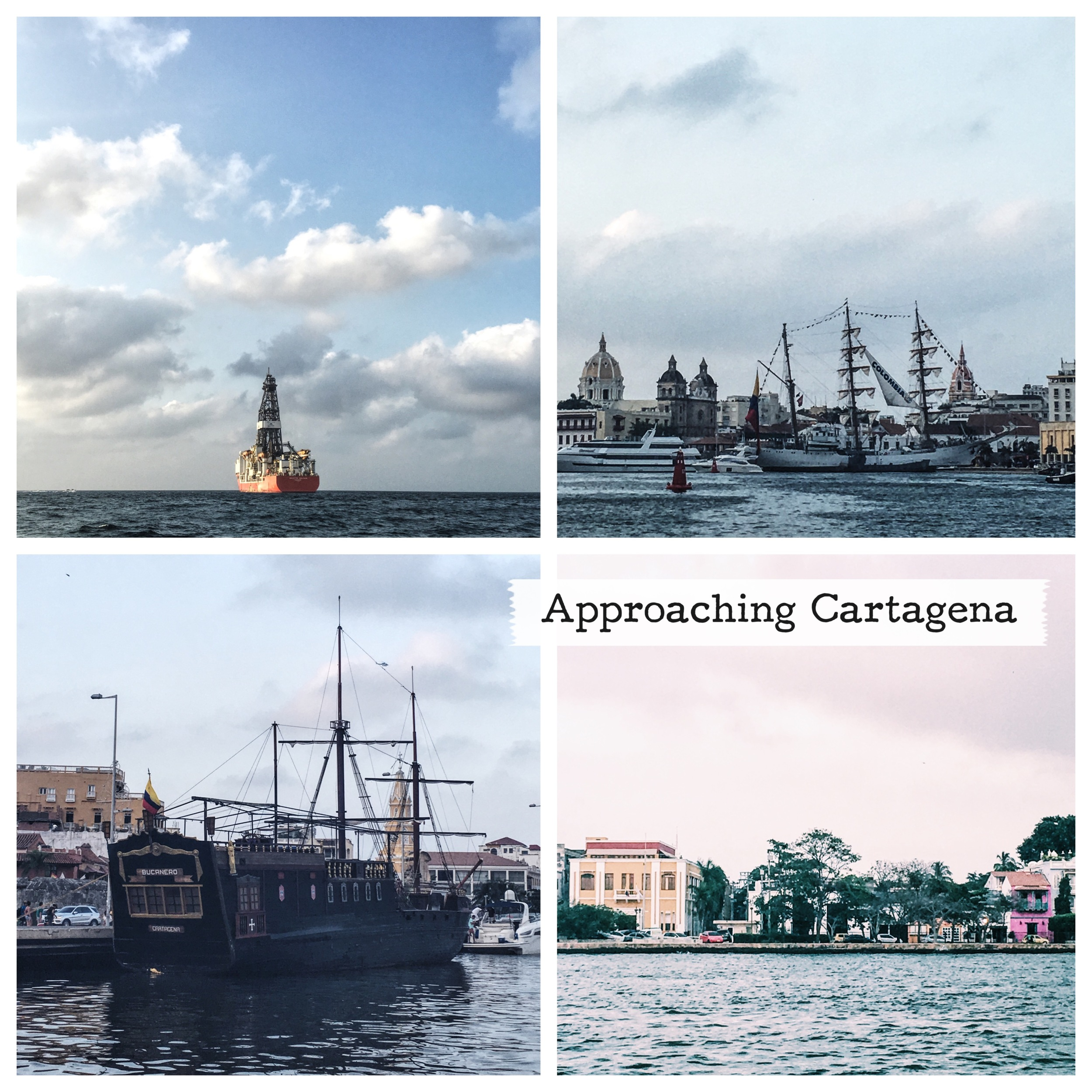 Approach to Cartagena