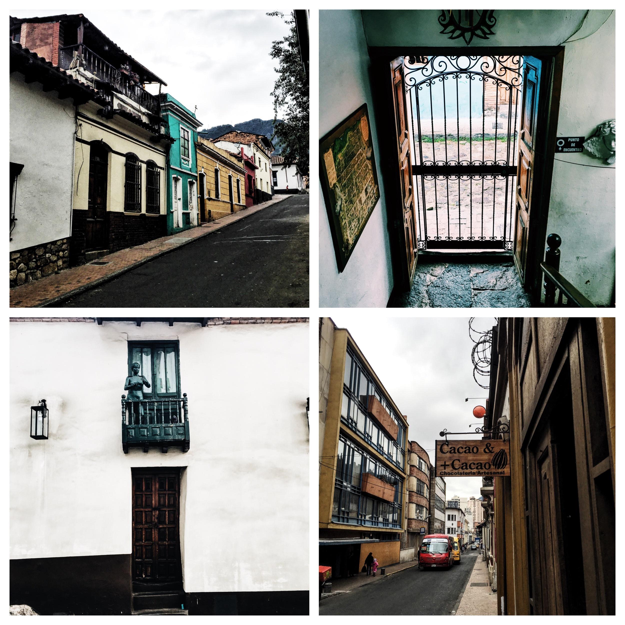 Bogotá streets