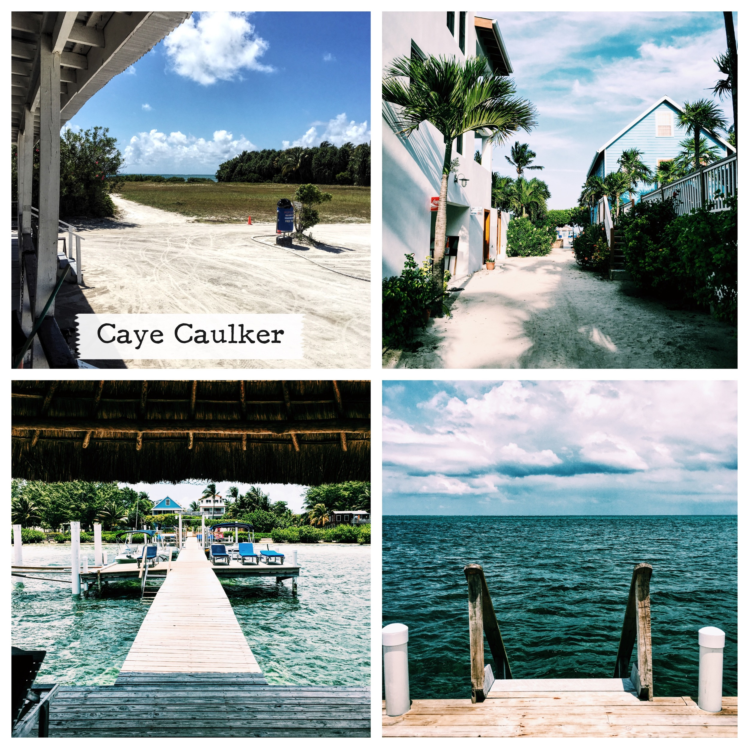 Arriving in Caye Caulker