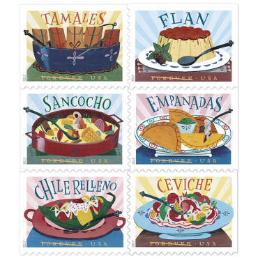 USPS Delicioso Forever Stamps