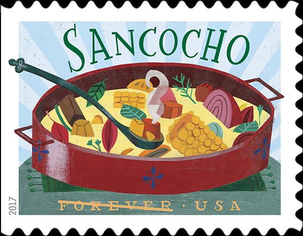 USPS Delicioso Forever Stamp - Sancocho