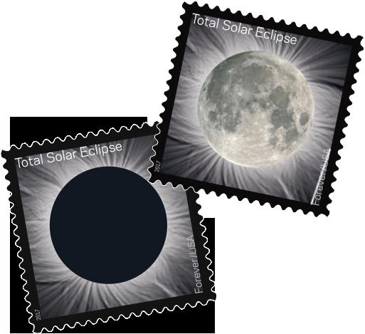 USPS Forever Stamp - Solar Eclipse 2017