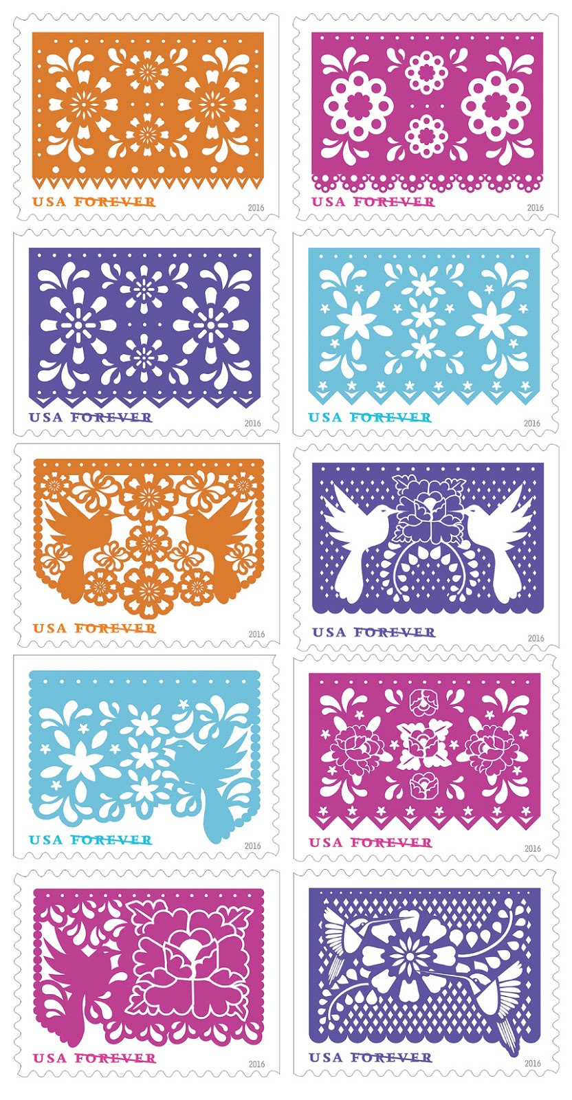 USPS Forever Stamp Colorful Celebrations