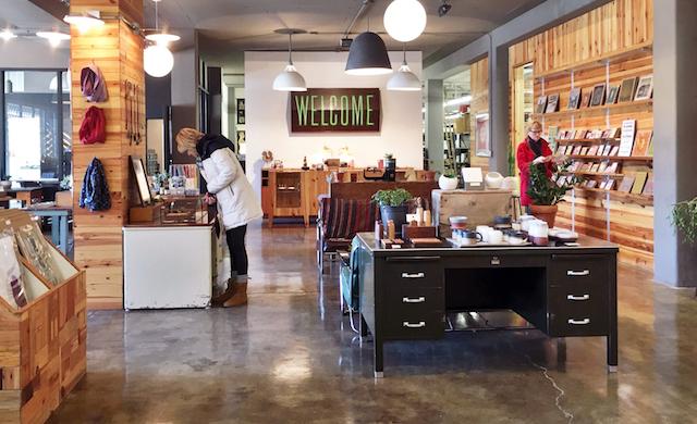 Hammerpress Retail Shop Interior