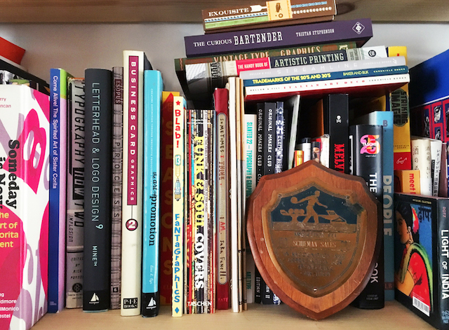 Hammerpress Inspiration Bookshelf