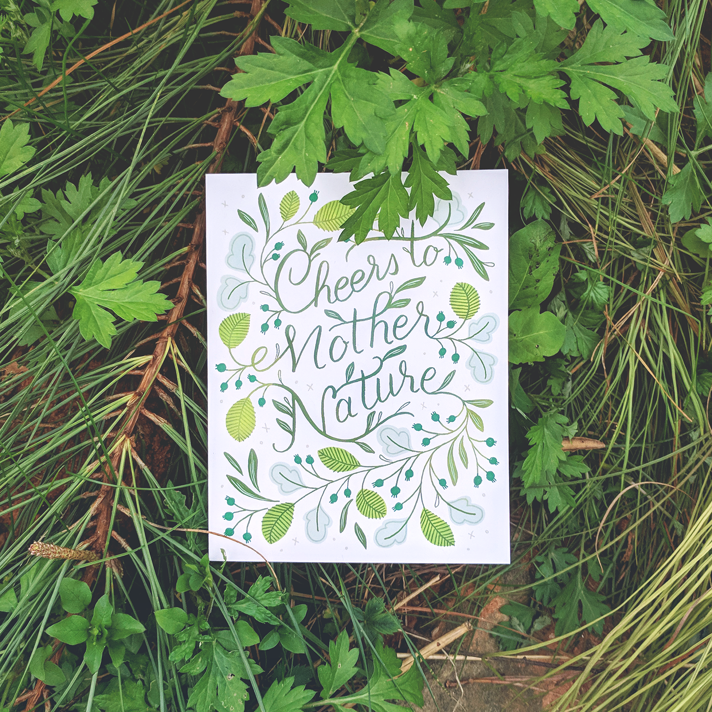 Paper Raven Co. Mother Nature Greeting Card