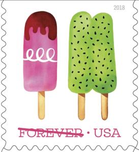 USPS Frozen Treats Forever Stamp
