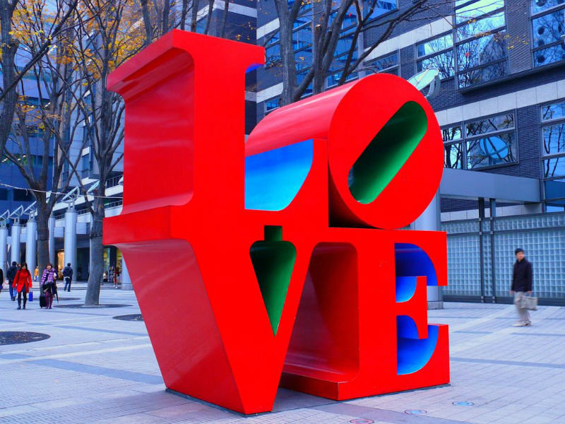 Love Sculpture by Robert Indiana
