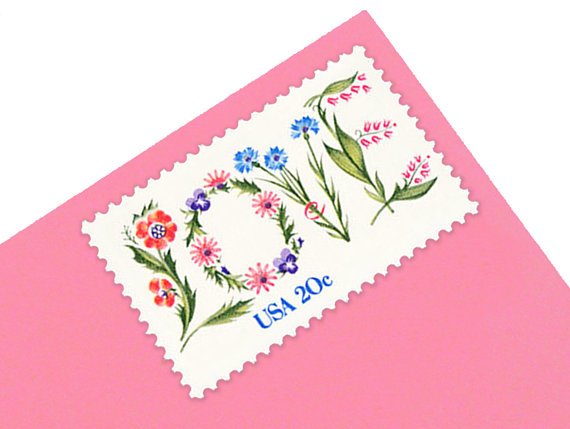 Second USPS Love Stamp issued 1982