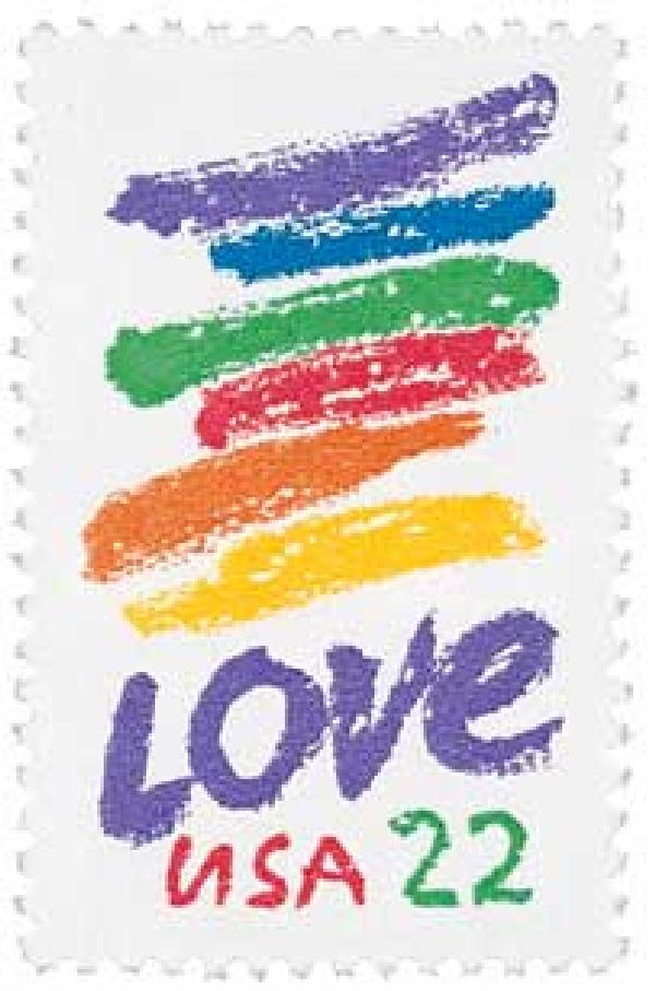 1985 Love Stamp
