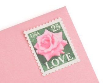 1988 Love Stamp 1-oz. Rate