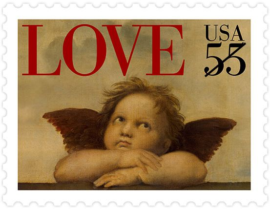 1995 Love Stamp Two-Ounce Rate