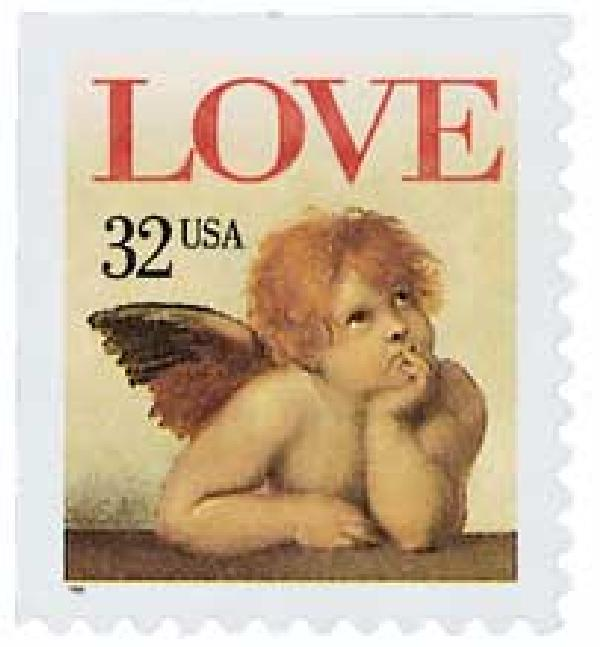 1995 Love Stamp One-Ounce Rate
