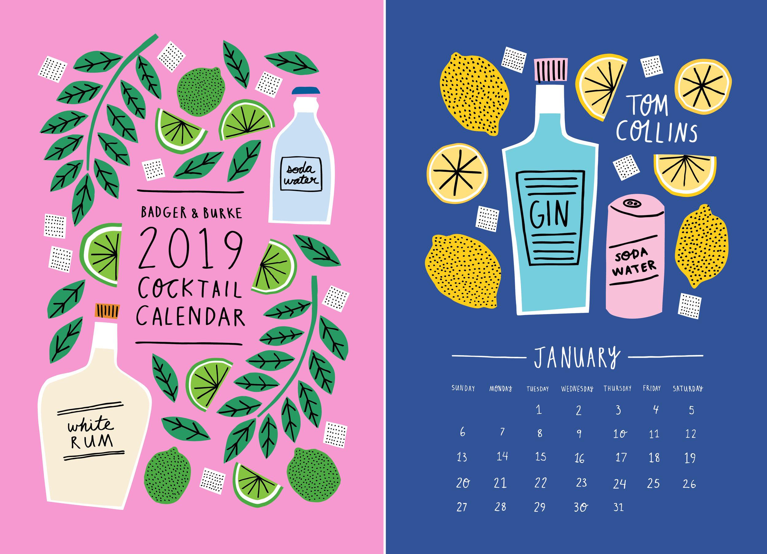Badger & Burke Calendars