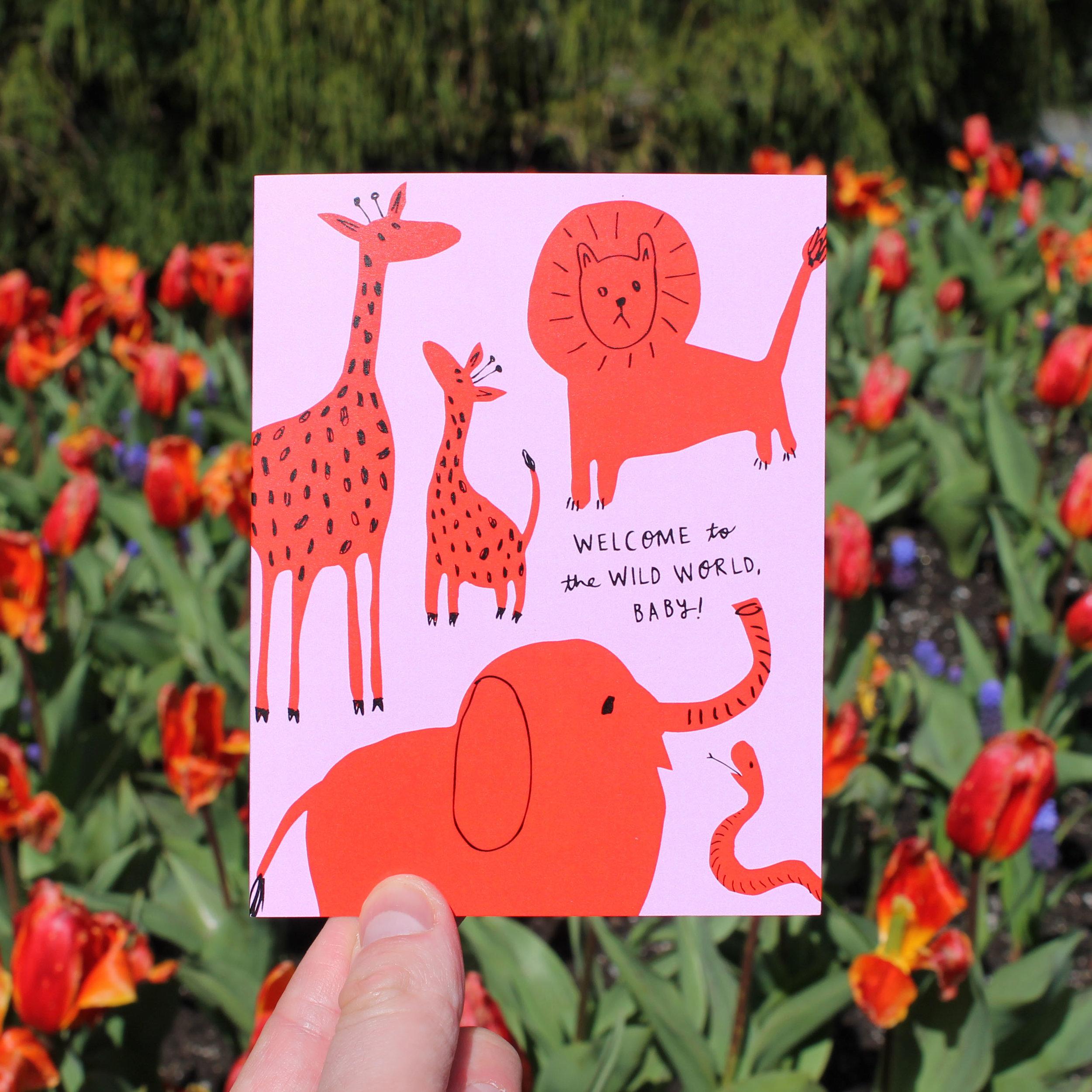Badger & Burke New Baby Greeting Card