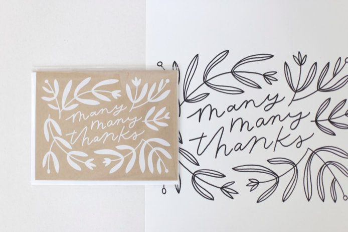 Worthwhile Paper greeting card design process