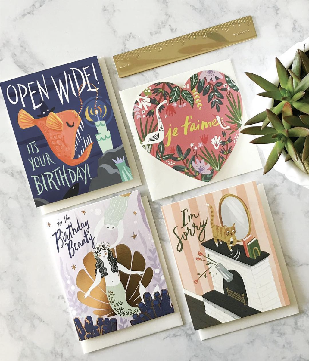 Idlewild Co. greeting cards