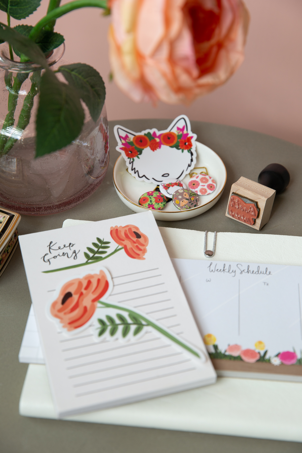 Bloomwolf Studio stationery products