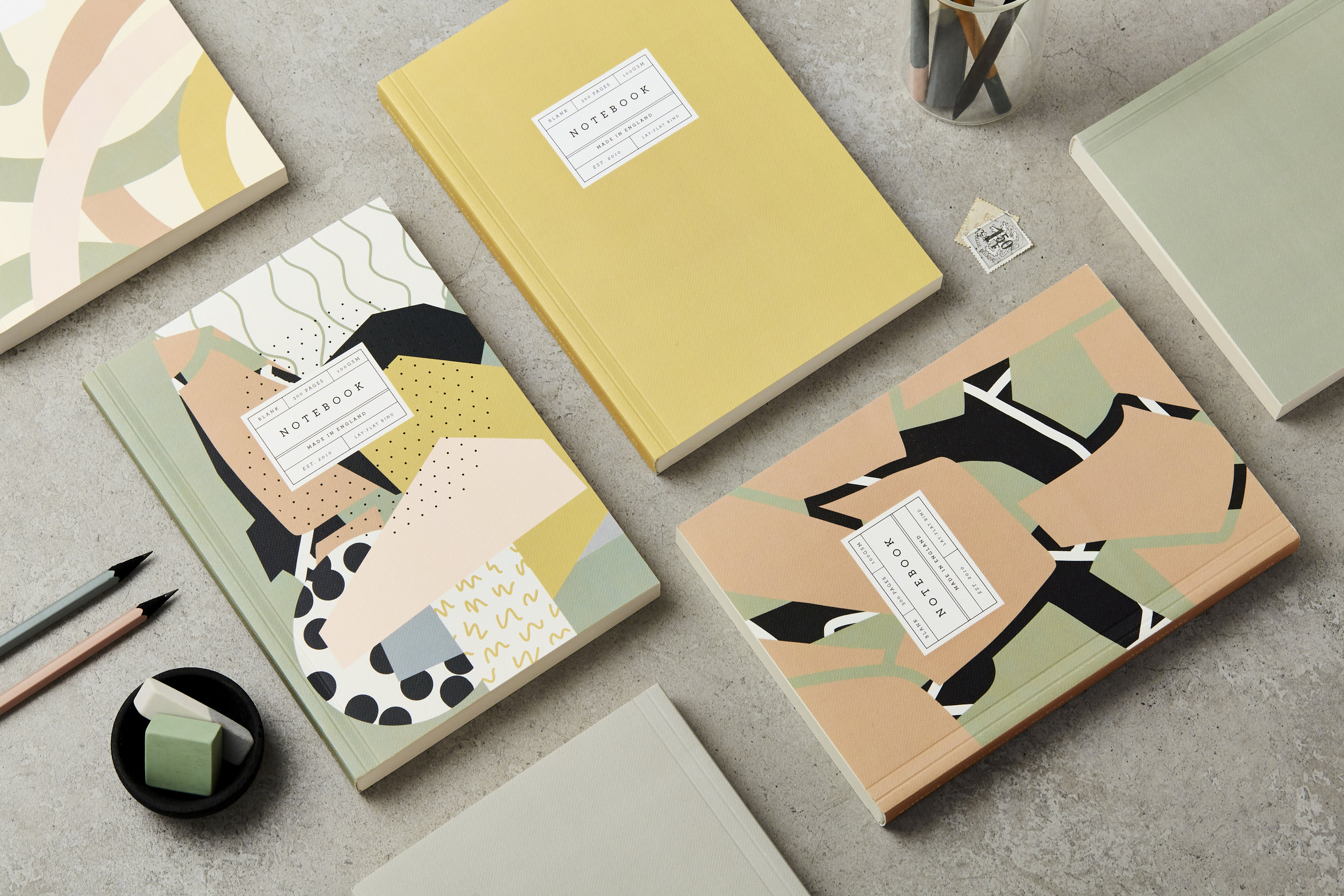 Katie Leamon luxury cards and stationery made in London
