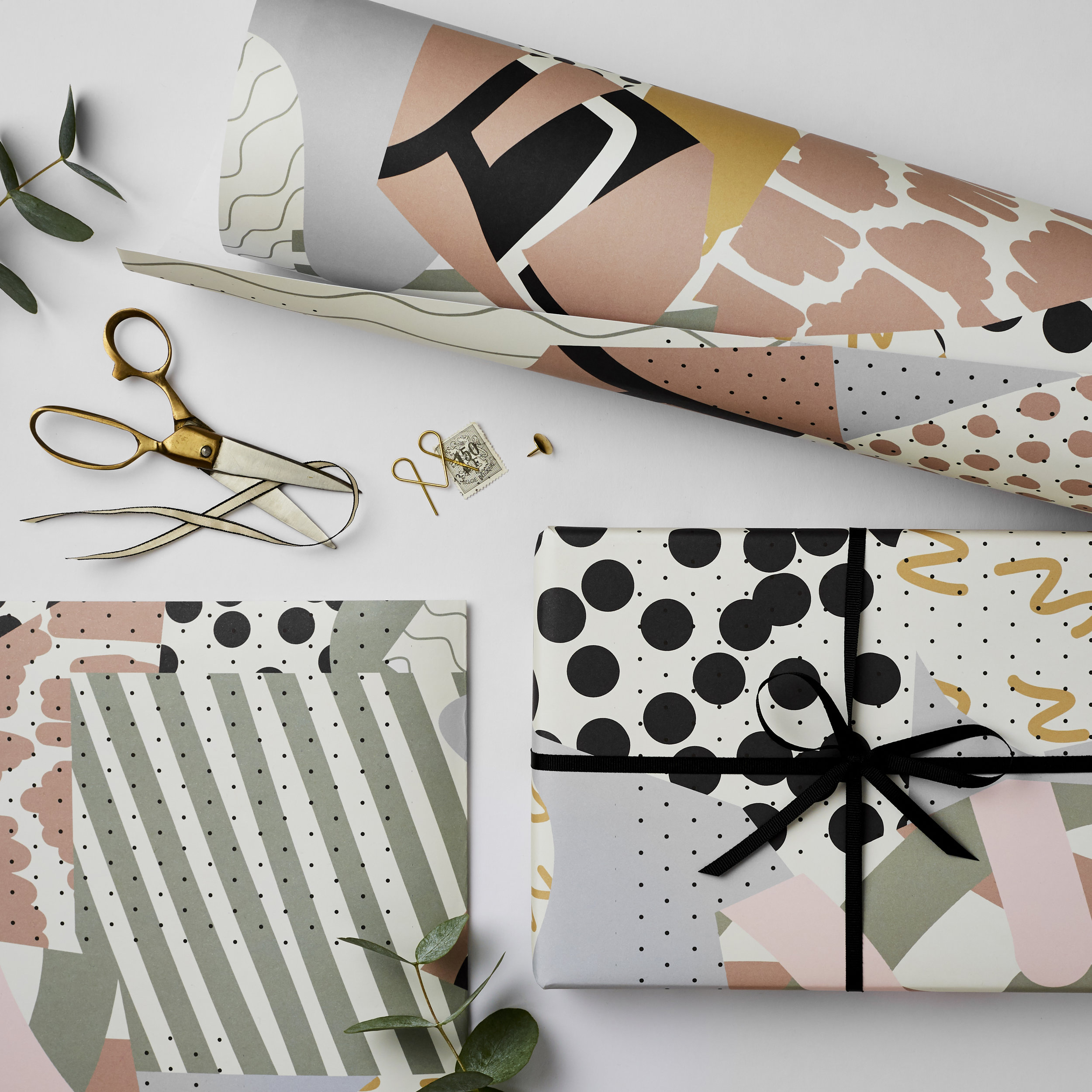 Katie Leamon luxury gift wrap made in London