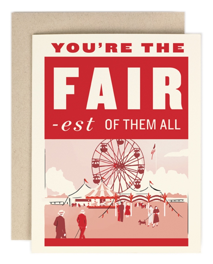 Amy+Heitman+You%27re+the+Fair-est+of+Them+All+Greeting+Card