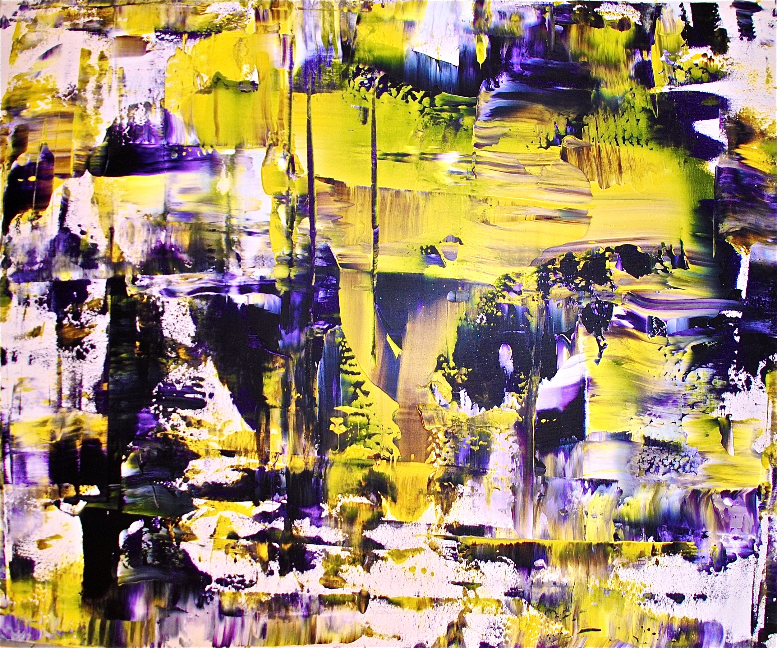 YELLOW / PURPLE 2015     SOLD