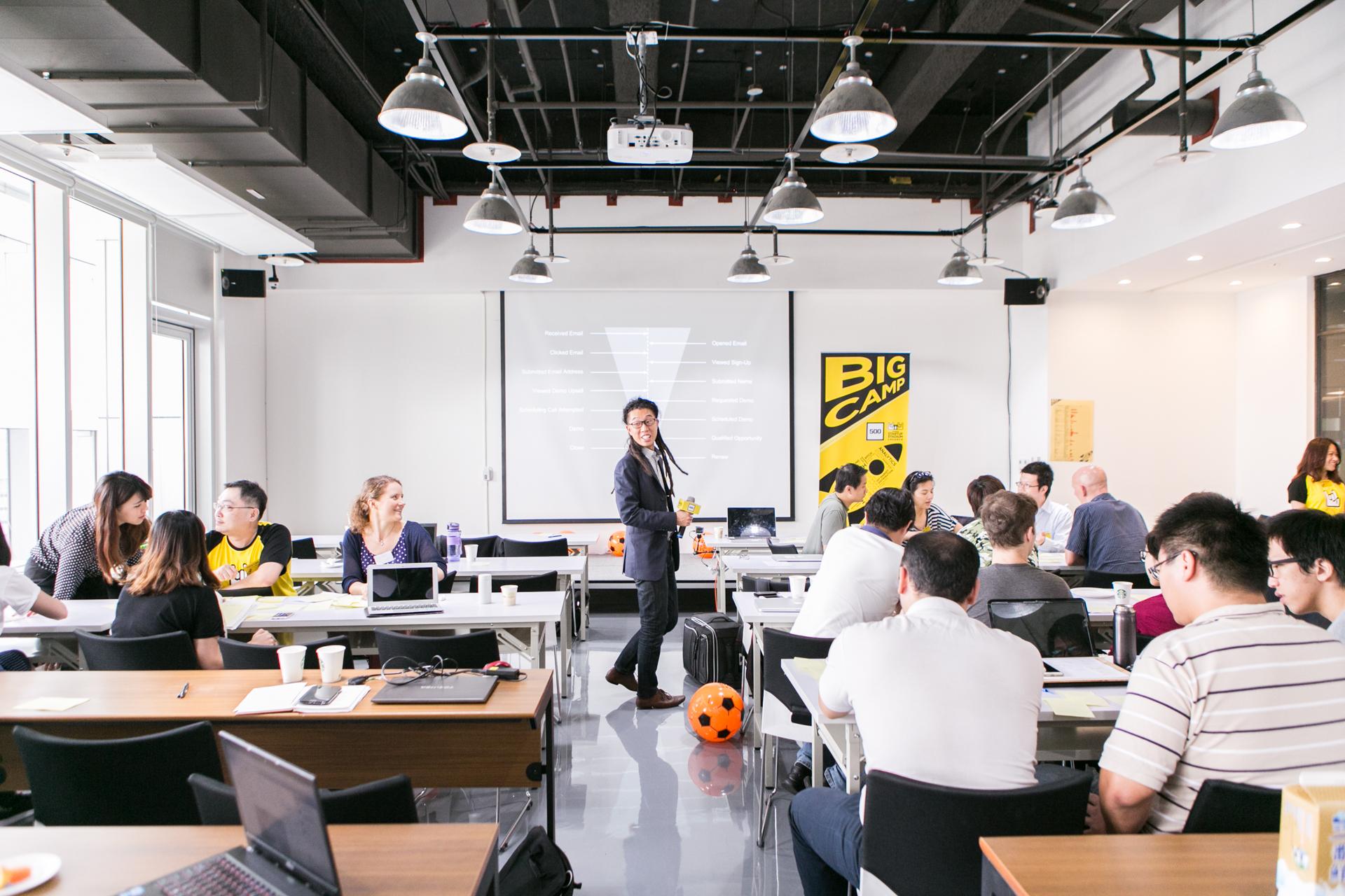 Master of profit maximization:500 Startups Distribution Hacker in Residence Nemo Chu