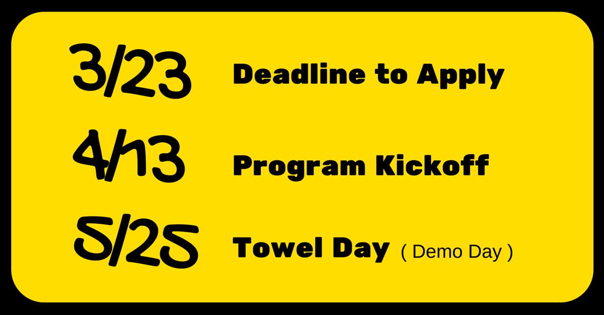 taiwan-startup-stadium-42-beta-accelerator-program-deadline-towel-day.png