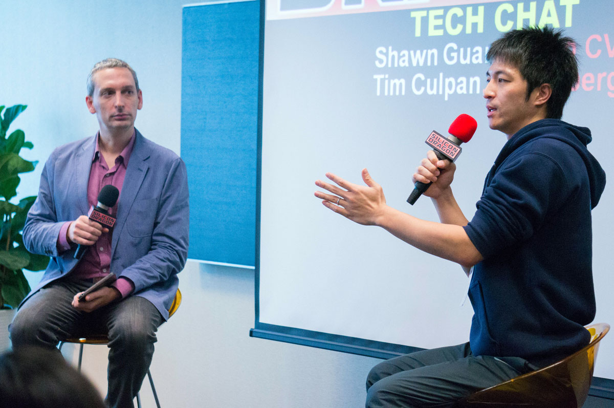 Tim Culpan (Bloomberg Gadfly) and Shawn Guan (Umbo CV)