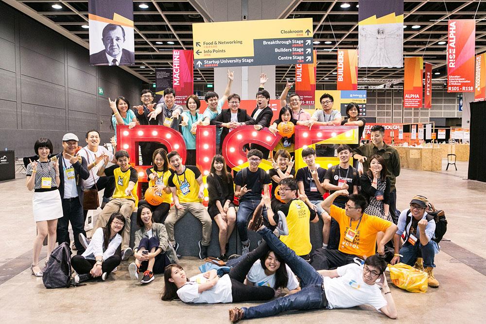 Taiwan Startup Stadium (TSS),CakeResume, Colorgy, Eatgether, Health2Sync, Infani, LoveNuts, Panobike+, and Vcool