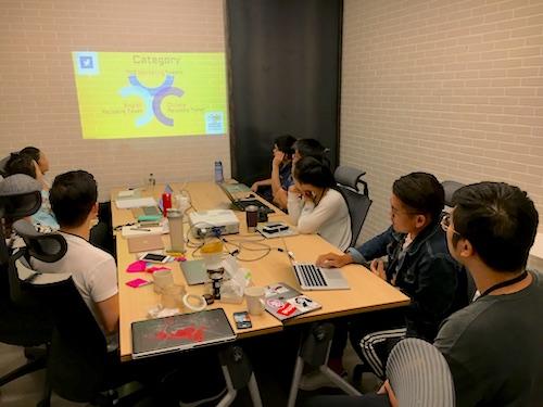 TSS interns Gary and Sky share their marketing analysis with senior staff