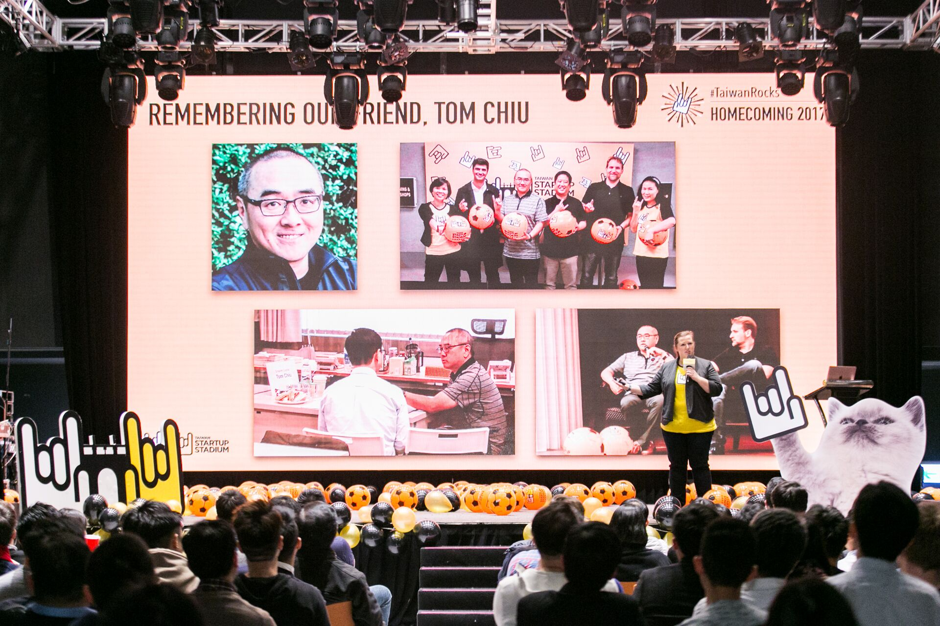 In memoriam: Our friend & investor, Tom Chiu