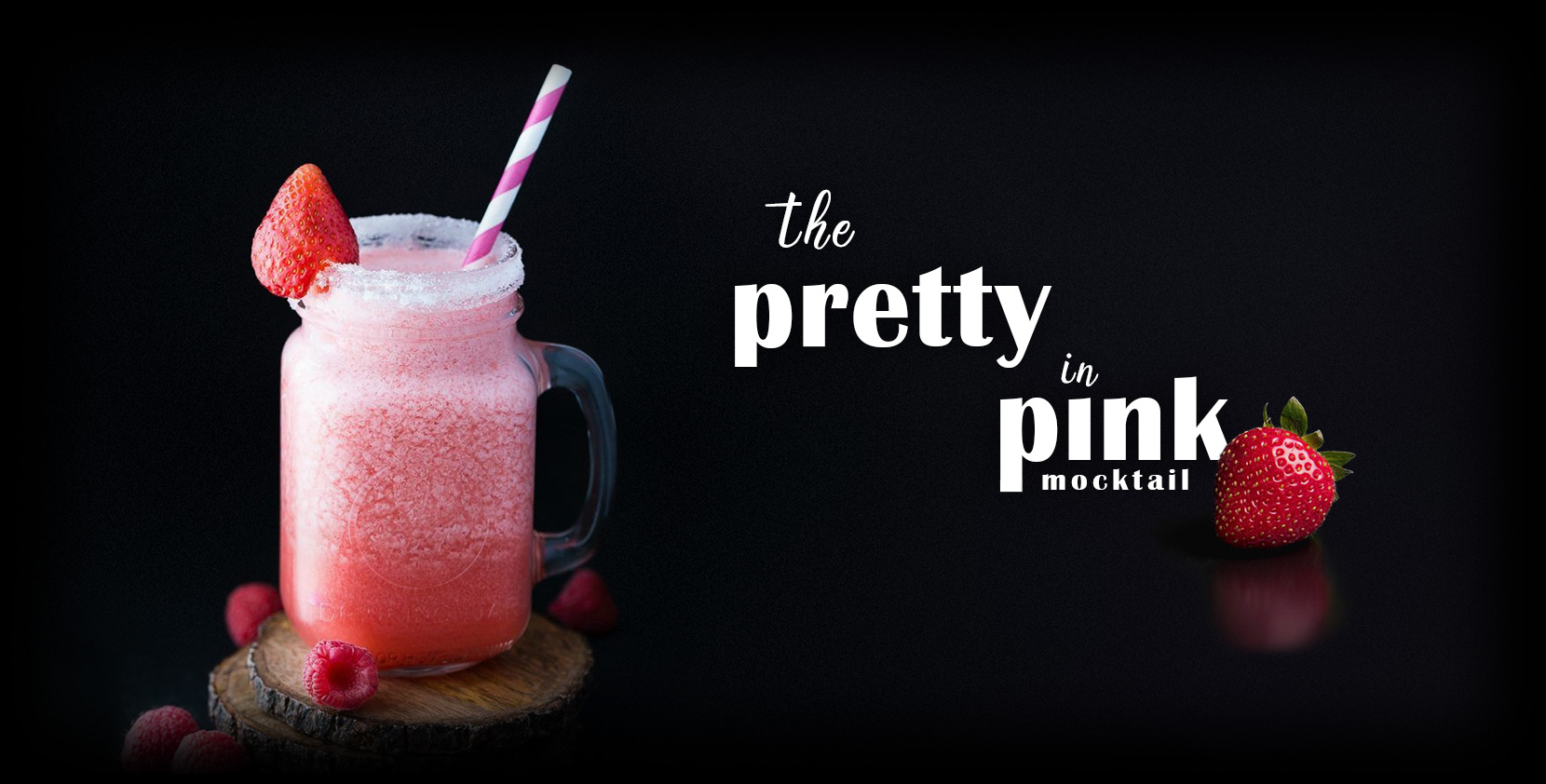 the Pretty in Pink Mocktail