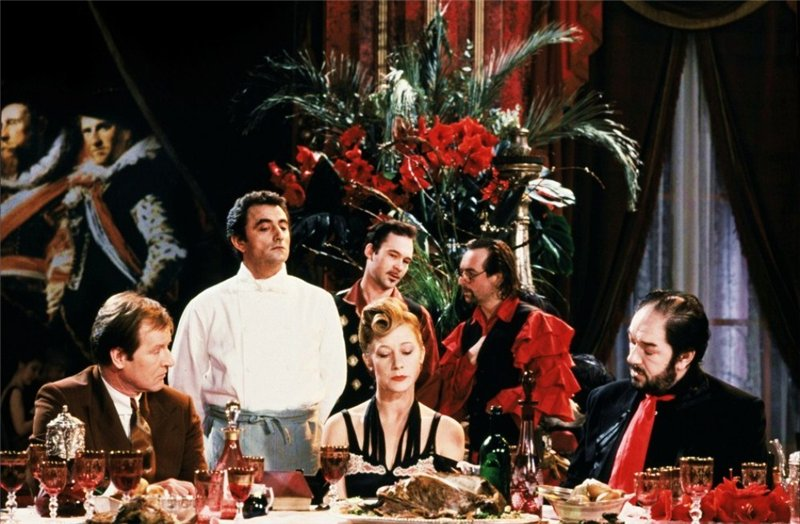 The Cook the Thief his Wife and her Lover by Peter Greenaway