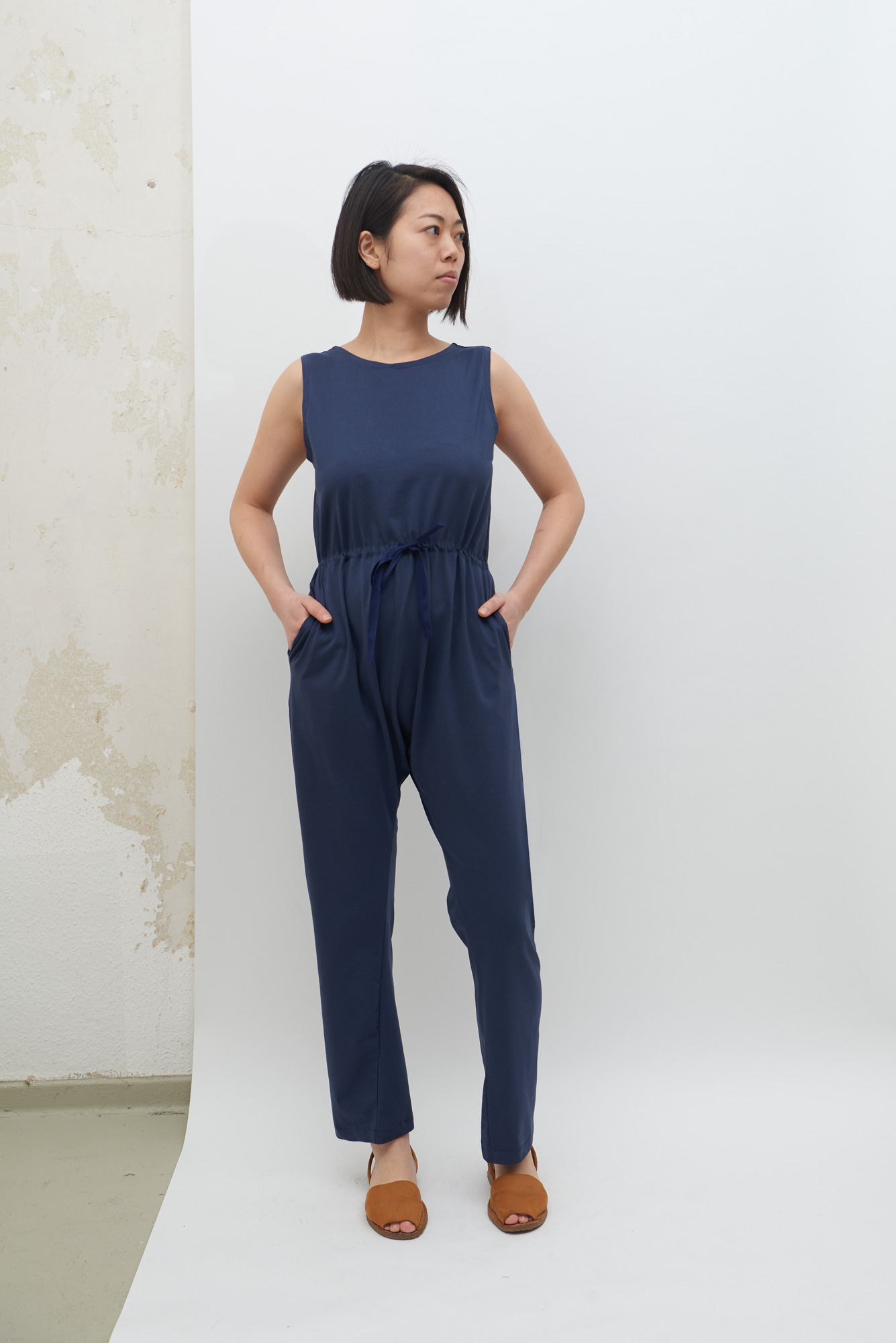 Jersey Overall - Navy