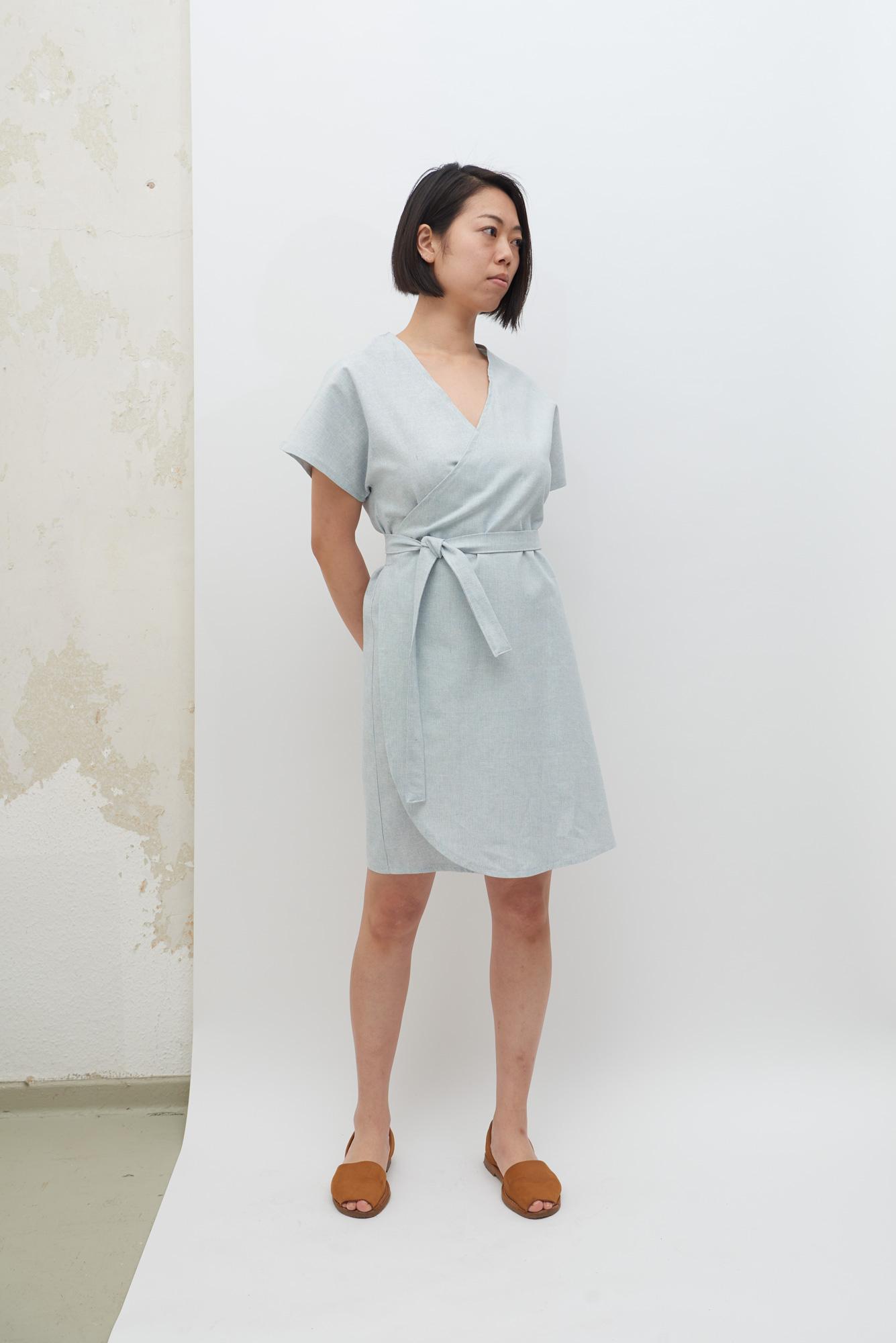Rappu Dress - Powder Blue