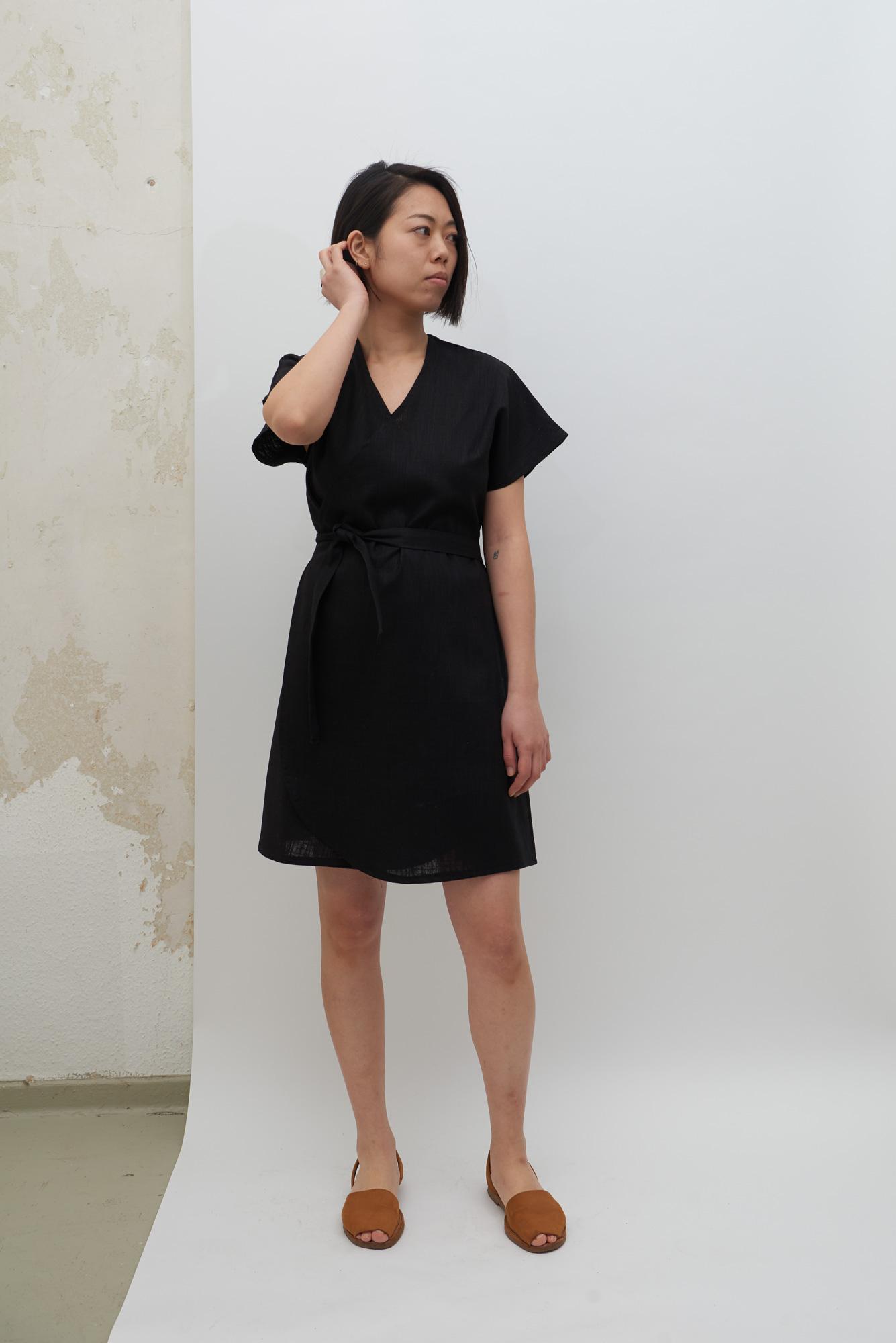 Rappu Dress - Black